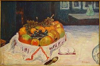 Interior with Still Life of Fruit