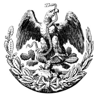Ignacio Mariscal - Image: Interpretation of Mexican Eagle 1887