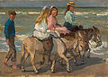 Isaac Israëls - Donkey riding - Google Art Project.jpg