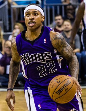 Isaiah Thomas (basketball) - Thomas with the Sacramento Kings in 2013