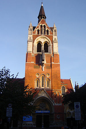 Union Chapel, Islington - October 2006 photo of the Union Chapel