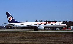 Boeing 737-800 der Istanbul Airlines