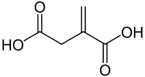Itaconic acid - Image: Itaconic acid