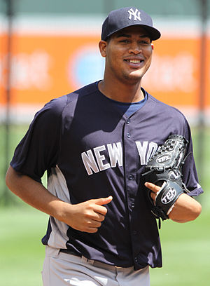 Iván Nova prior to the New York Yankees game a...