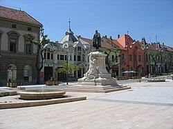 János Garay Statue, Garay Square, Szekszárd.jpg