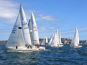 Гонки на яхтах J-24, Sydney Harbour.jpg