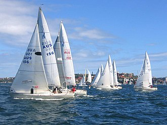 Sailing (sport) - Inshore yacht racing on Sydney Harbour
