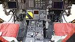 JASDF CH-47J(LR)(37-4489) cocpit console at Kasuga Air Base November 25, 2017 03.jpg