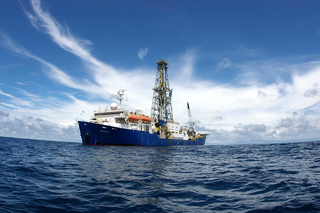 Photo by Arito Sakaguchi & IODP/TAMU