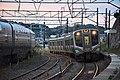 JRE E721 at Matsushima Station 2016-10-10 (30053471474).jpg