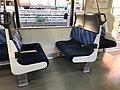 JR EAST E217 Series seat.jpg