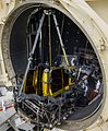 JWST in Space Environment Simulation Laboratory Chamber A for thermal test (1).jpg