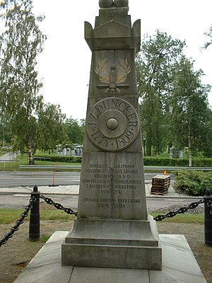 Joachim Zachris Duncker - Lieutenant-Colonel JZ Duncker's Memorial Monument