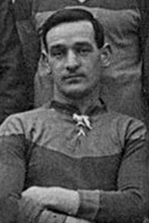 Joe Johnson (footballer, born 1882) - Johnson while with Brentford in 1914