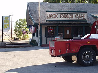 Cholame, California - Jack Ranch Cafe