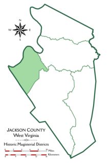 Union District, Jackson County, West Virginia Magisterial district in West Virginia, United States
