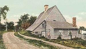 Richard Jackson House - ca. 1909 postcard image
