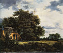 Jacob van Ruisdael - Cottage under Trees near a Grainfield.jpg