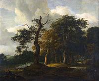 Jacob van Ruysdael - A Road through an Oak Wood - Google Art Project.jpg