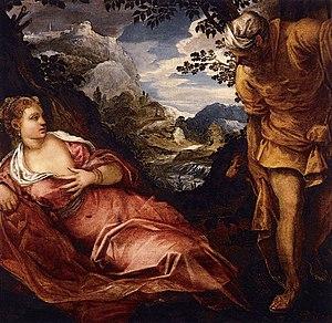 The Meeting of Tamar and Judah