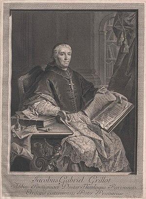 Jean-Joseph Balechou - Image: Jacques Gabriel Grillot, 1742 1764 abbe de Pontigny