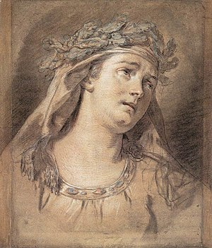Jacques-Louis David - Sorrow - WGA06103