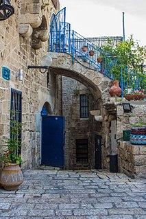 Old Jaffa Historical part of the Israeli city of Jaffa