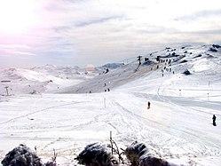Olympic ski slopes