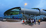 Jakabaring Aquatic Center, SEA Games 2011 Palembang 1.jpg