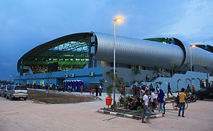 2011 Southeast Asian Games - Jakabaring Aquatic Center, the venue of aquatic sports