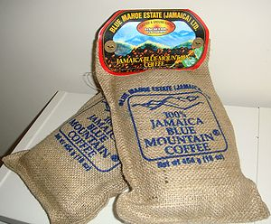 Illustrative pic of Jamaican Blue Mountain Coffee