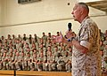 James Conway, Commandant of the Marine Corps, answers marines' and sailors' questions.jpg