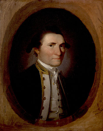 James Cook, by John Webber (died 1793). See so...