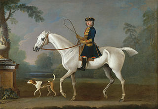Sir Roger Burgoyne Riding \