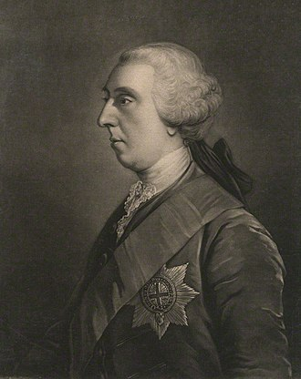 James Waldegrave, 2nd Earl Waldegrave - The Earl Waldegrave, mezzotint by James Macardell.