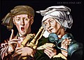 Jan Sanders van Hemessen and Workshop - The boisterous bagpipe player and the artful woman.jpg