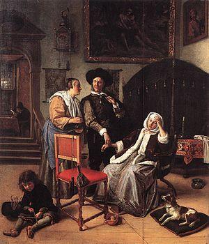 Peeckelhaeringh - Image: Jan Steen Doctor's Visit WGA21713