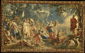 Liberty - Crossing of Red Sea by Jan van Orley and Augustin Coppens, between circa 1729 and circa 1745