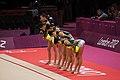 Japan Rhythmic gymnastics at the 2012 Summer Olympics (7915428404).jpg