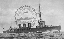 Japanese cruiser Tenryu in 1926 postcard.jpg