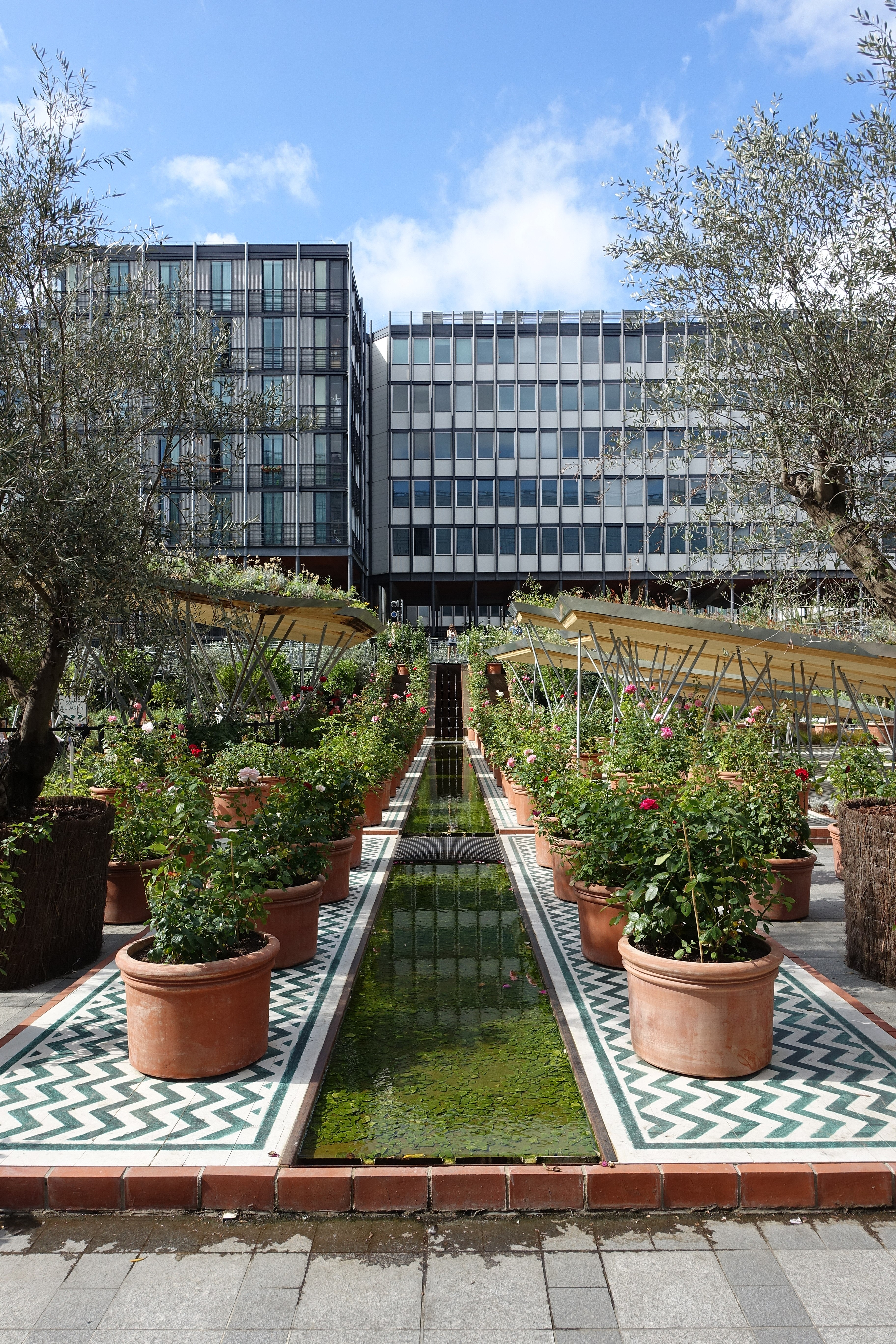 Filejardin Dorient Exhibition At Institut Du Monde Arabe At Paris - Jardin-arabe