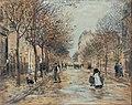 Jean-Franҫois Raffaëlli - Street in Asnières - Google Art Project.jpg
