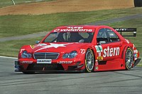 Alesi im DTM-Mercedes, Brands Hatch 2006