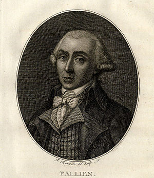 Jean-Lambert Tallien - Tallien as deputy to the National Convention, 1792