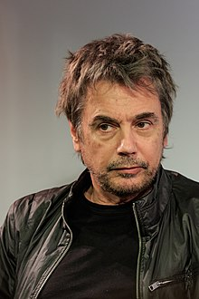 Jean Michel Jarre - 2017 Dark Brown hair & alternative hair style. Current length:  short hair