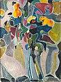Jean Vimenet, Le Bouquet, huile sur toile, Cachan 1962.jpg