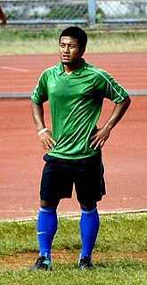 Jeje Lalpekhlua Indian footballer