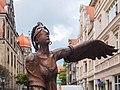 Jelenia Góra - rzeźba - Vahan Bego, Porwanie Europy 004.jpg