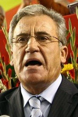 Portuguese legislative election, 2005 - Image: Jerónimo de Sousa 2007b (cropped)