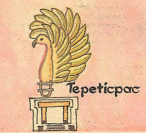 Tepeticpac - Glyph of Tepeticpac